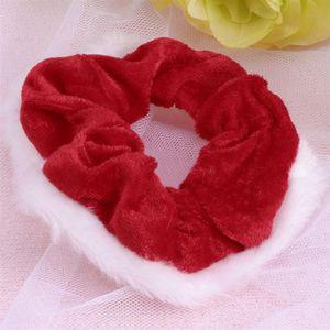 5 Pcs Cabelo Scrunchies Natal Fitas para o Cabelo Headbands Entrançadores Styling Ferramenta Elastic Scrunchy Bandas rabo de cavalo titular UK envio