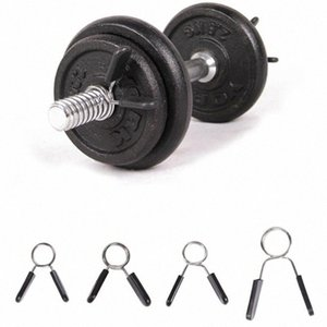 1 Piece 24 25 28 Weight Lifting Bar Gym Dumbbell Fitness Body Building Spinlock Collars Barbell Collar Lock Dumbell Clips Clamp cL25#