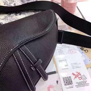Designer 2020 alforje estilo sacos para corpos cruz bolsas de alta qualidade carta mulheres de couro Bolsas de Ombro do CD do metal Messenger Bag bolsas hsHF #