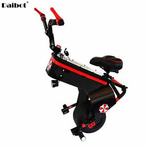 Scooter eléctrico 60V 800W una rueda de la motocicleta autobalanceo Scooters 10 pulgadas con asiento portátil monociclo eléctrico Uno para la juventud