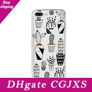 100 Cell Phone pc del commercio all'ingrosso personalizzati su misura ha stampato Transparente Tpu caso della copertura per Iphone Mix Oem Foto Case Stampi