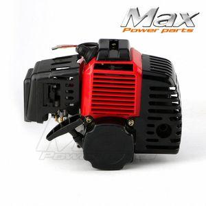 43cc 47cc 49cc completa 2 Stroke Engine Motor para Mini Pocket Bike gas G-Scooter patio de ATV bicicletas desbrozadora motor Lxes #