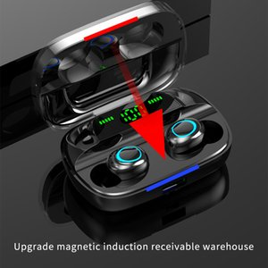 S11 TWS 5.0 Bluetooth-Kopfhörer 10 Meter Bluetooth-Abstand Fingerabdruck TOUCH 9D Gaming Headset Reverse Laden Wireless Welcing