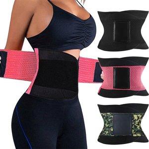 Burvogue Shaper Women Body Shaper Slimming Shaper Belt Girdles Firm Control Waist Trainer Cincher Plus size S-3XL Shapewear Y200710