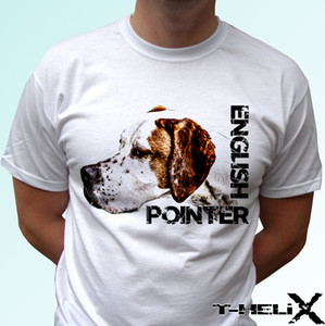english pointer - dog t shirt top tee design - mens womens kids baby casual pride t shirt men unisex new fashion tshirt