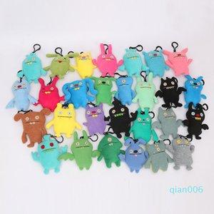 10-12cm Uglydolls Ox Moxy Uglydog Babo salario Puglee Dave peluche Ugly catena bambola chiave della peluche ciondolo giocattolo elementi della novità CCA11616-A 30pcs