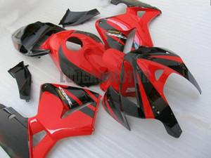 Injection Fairings kit + Geschenke für HONDA CBR600RR F5 2003 2004 2005 2006 CBR600RR F5 03 04 05 06 Körperabdeckung + Windschutzscheibe #Black RED # G8J21