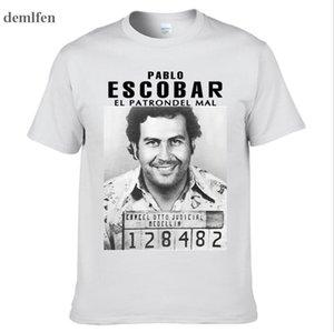 Pablo Escobar T-Shirt kolumbianische Drogen Herr Cartel Geld T-Shirt Sommer-Unterhemd-T-Shirt Mann Kurzarmshirts T-Shirts