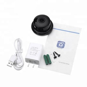 V380 Smart Black Indoor Audio Home Security Night Vision Wireless Mini Detection WIFI Camera IP HD 1080P Monitoring