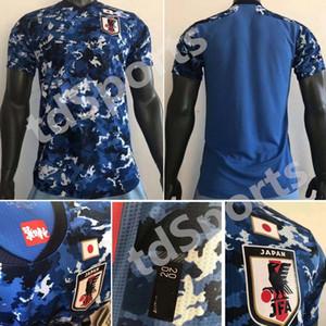 topo 2020 Japão Player versão Soccer Jersey lar nacional equipe japão ATOM KAGAWA ENDO OKAZAKI Nagatomo Hasebe Kamamoto Japan Football Shirt
