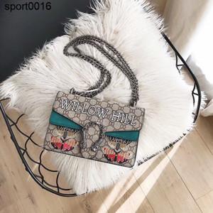 Spalla nero Nuovo Rattan Straw Bag Donna Tessuti a mano Messenger Bag Summer Beach Piazza Box paglia borsa per Lady Bolsa Feminina Y19061204