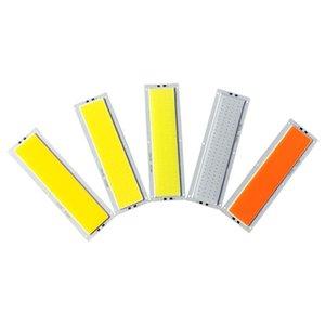 10W LED COB bande ampoule 12V panneau LED lampe chaude naturelle Couleur Bleu Blanc Froid 120x36mm Chip LED d'éclairage pour le bricolage
