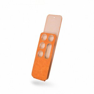 오렌지는 원격 제어 PU 보호 케이스 스킨 커버 애플 TV 4 원격 제어 o4gu # 커버