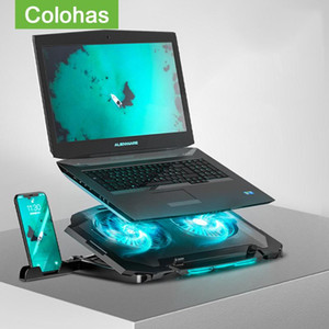11-17 inch Cooling Fan Laptop Stand Portable Base CPU Laptop Cooler Holder For Air Pro Computer Cooling Bracket