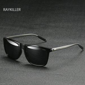 ساحة عدسة نظارات رجالي في الهواء الطلق RAYKILLER المستقطبة مع لالمتطابقة القيادة UV400 النساء نظارات نظارات القضية Bkwqi