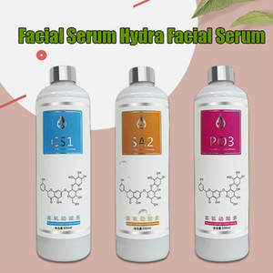 Garrafas do Aqua Peeling Solution Aa1 Ab2 AM3 500ml por garrafa do Aqua Facial Serum Hydra Facial Pele Soro para Normal