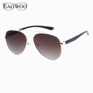 Lentes rosa Moda Eagwoo óculos polarizados Homens Ao Ar Livre Pilot Sun Óculos Anti UV Anti Glare De Sol Masculino