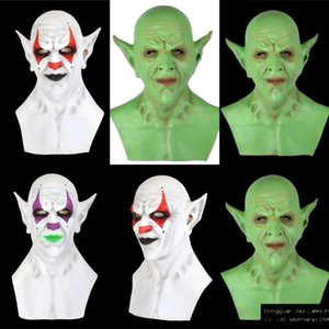 Maske Props Königs ONA7D ItCosplay Pennywise Clown Joker-Maske Tim Curry Maske Cosplay Halloween-Party Stephen LED Film