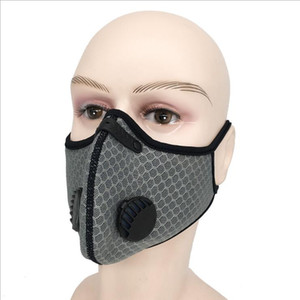 Cycling Mask Pollution Activated Carbon Anti-fog PM2.5 Outdoor Sports Mesh Men and Women Bicycle Warmth Face Masks