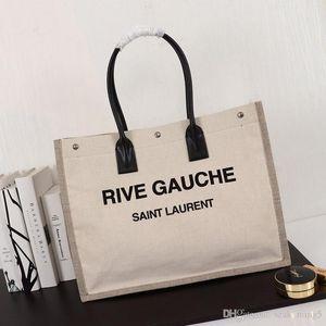 2019 فاخرة جديدة حمل حقيبة المرأة مزق أرعن حمل حقيبة كلاسيكي طباعة قماش ذات سعة كبيرة مما يجعل فاخر جو نموذج: F59929