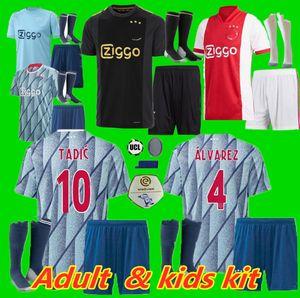 KIDS Adult-Kit 20 21 Ajax-Fußball Jersey 50. Ajax Amsterdam VAN DE BEEK NERES 2020 2021 TADIC ZIYECH FOOTBALL PROMES