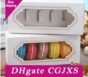 무료 배송 포장 5 컵 과자 포장 서랍 상자 핫 새 창 마카롱 케이크 초콜릿 상자 마카롱