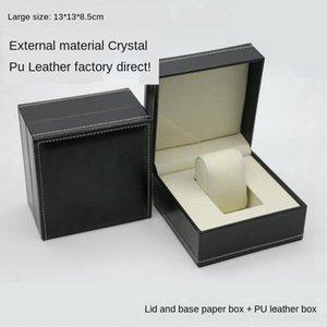 Personalizzato stampaggio orologio confezionamento ed esposizione di oggetti PU boxjewelry guardare modello in pelle caldo contenitore di monili di stoccaggio unico Box pG0s1