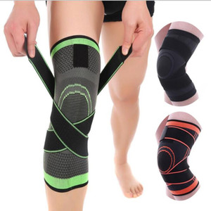 Knee Support Professional Protective Sports Knee Pads Breathable Bandage Knee Brace for Basketball Tennis Cycling Running protective sleeve