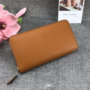 Hot men women wallet designer luxury bag Coin Purse genuine leather card holder star 7264991 506 top quality size 10*12CM with box