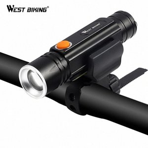 WEST BIKING Bicycle Front Lights Ultra-Bright Zoom USB Rechargeable Tent Lamp Bicicleta Cycling Headlight Bike Light rD5Q#