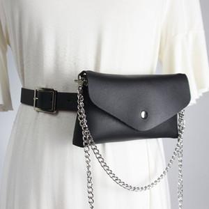 New belt for women decoration simple alligator waist bag versatile sweater with skirt belt cool ins style