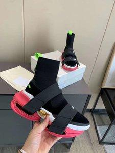 Chaussures d'élévation occasionnelles pour la boucle de crochet Sponge Cake Plate-forme Chaussures Chaussures Chaussures High-Top Haute Port - Résistant à l'usure, antidérapant et non-décolore