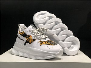 Zapatos para hombre Zapatos de lujo de la Cruz Chainer las zapatillas deportivas para hombres Vers Chaussures Pour Homme Zapatos casuales para hombre V22 Footwears