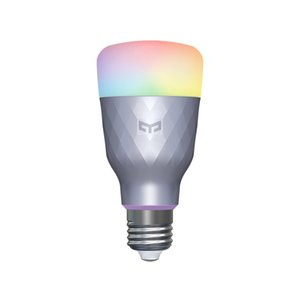 Lampadina Yeelight luce intelligente LED 1SE Nuove uscite E27 6W RGB Voice Control luce colorata per Home page di Google