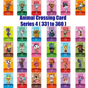 Amiibo Kart Serisi 4 (360 331) NS Oyun için Animal Crossing Kart Çalışması