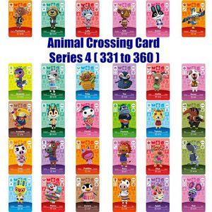 Amiibo Series Card 4 (331 360) Animal Crossing Card Работа для NS игры
