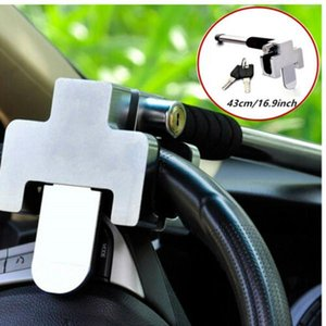Auto Anti Theft Security Locks Car Steering Wheel Lock Alloy Steel W 2 Keys Kit