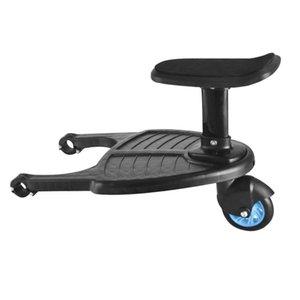 Buggy Board roues Poussette bébé Ride-On Sliding Gliding Support Conseil avec siège amovible 55 lbs Contient