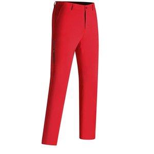 Быстрые дышащие брюки для гольфа мужские брюки осень и летние сплошные цветные моды повседневные гольфы Titl