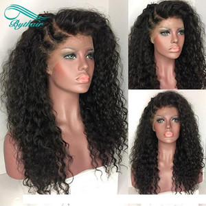 A Heavy Density 150 %Afro Kinky Curly Wigs Full Lace Human Hair Wigs Brazilian Lace Front Wigs Kinky Curly Wig For Black Women