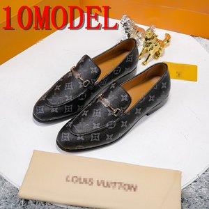 Formal Schuh Designer Versi Italienisch Luxurys Marken Brautschuhe Mens Spitzschuh-Kleid-Schuh-Mann-Leder Oxford Schuhe für Männer