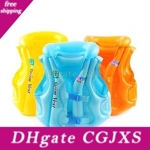 Été enfants piscine gonflable Gilet de sauvetage 3 couleurs Gilet de sécurité nautique Flottabilité Dérive sauvetage Gilet vie Gilet