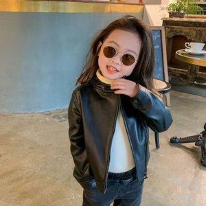 MILANCEl 2020 Herbst Mädchen Mantel PU-Leder Kinder Jacke Art und Weise Mädchenkleidung Kinder Jacken für Jungen