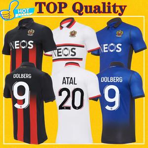 Maillot OGC Nice Soccer Jersey 2021 HSCHNEIDERLIN Atal LIES MELOU DOLBERG GOUIRI 20 21 Maillot De belle ogc Pied de football shirt