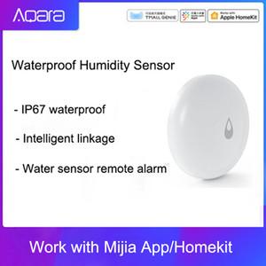 Originale Aqara IP67 impermeabile sensore di umidità di Smart Home Water Sensor allarme remoto di controllo APP