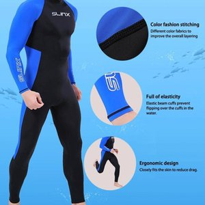 Hommes Wetsuit Surf Natation manches longues Retour Zip sport Costume complet pour plongée sous-marine