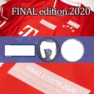 لشبونة ختامية 2020 ميونيخ لكرة القدم جيرسي # 9 LEWANDOWSKI # 29 COMAN 23 أغسطس لكرة القدم قميص 20/21 مخصصة زي كرة القدم