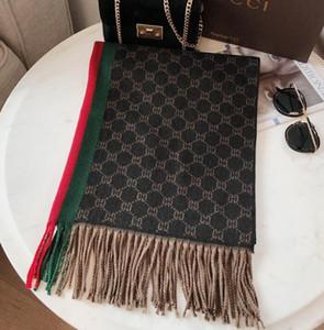 Prémio caxemira malha lenço da forma suave de cashmere jacquard da marca cachecol estilistas lenços desgaste dos homens ocasionais e mulheres têm rótulos