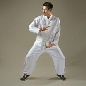 ropa del estilo chino del algodón de Kang Yuya nuevo estilo de Tai Chi ropa de los hombres artes marciales desgaste del algodón de la ropa de otoño artes marciales PRAC la ropa de adultos