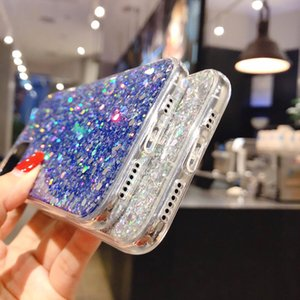 Suitable For Iphone11 Pro Fashion Glitter Sequined Mobile Phone Case Iphone7 8plus Sequin Protective Cover 2020new